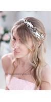 Аглая - венок в волосы невесты