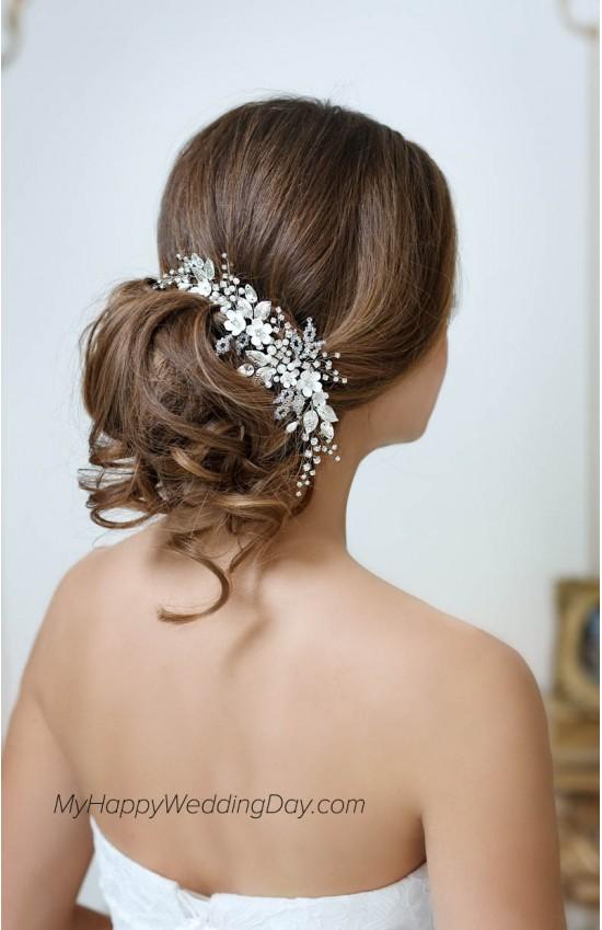 Адони - украшение для волос на свадьбу на любые свадебные прически