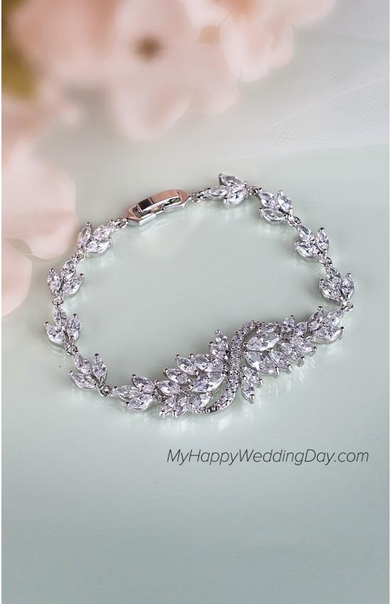 БАРБАРА браслет на руку невесты - свадебная бижутерия