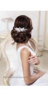 Гая Цветочный Свадебный Гребень в виде Веточки для Свадебной Прически Невесты