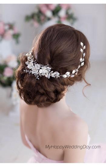 Чрисанте свадебное украшение для волос